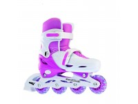 Pattini in- line easy roller 31-34 regolabili rosa sport one