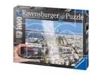 Ravensburger 19302 Veduta aerea di Parigi Puzzle Adulti 1000 pz - Augmented Reality