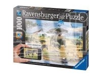 Ravensburger 19305 Animali della Savana Puzzle Adulti 1000 pz - Augmented Reality