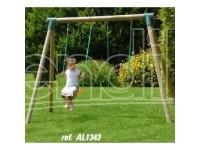 New Plast Altalena Legno Cm190 2 Posti AL1343