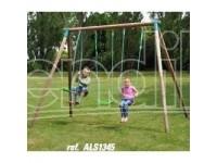 New Plast Altalena Legno Cm235 2 Posti+don