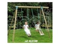 New Plast Altalena Legno Cm235 2post.+Scala
