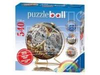 Ravensburger 11131 Puzzle ball 540 Pezzi PUZZLE SFERICO 540: ANTICO MAPPAMONDO
