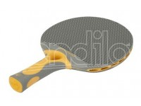 racchetta ping pong TACTEO 30 GREY/ORANGE