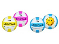 PALLONE DA BEACH VOLLEY SMILE IN CUOIO CUCITO 3 COLORI ASSORTITI