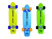 SKATEBOARD CITY CRUIZER 3 COLORI ASSORTITI FORMA
