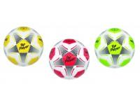 Pallone da calcio Top Payer in cuoio sintetico, peso e misure regolari 3 colori assortiti