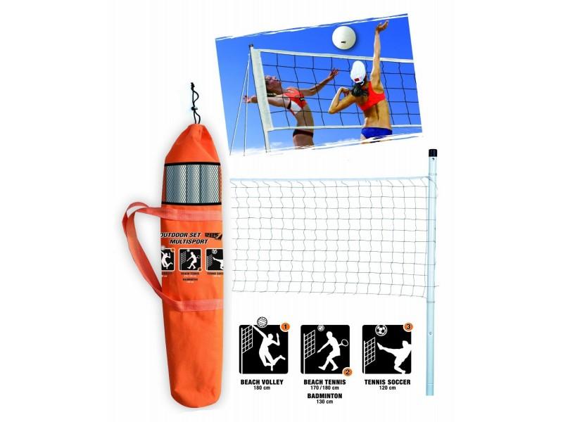 Set rete da pallavolo beach volley o mutisport