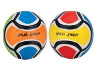Pallone da beach soocer in cuoio sentetico 2 colori assortiti sport 1