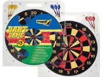 Bersaglio sport cm 38 con 6 freccette dartboard sport 1