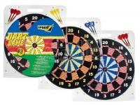 Bersaglio sport cm 43 con 6 frecette sport 1 dartboard