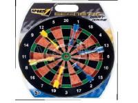 Bersaglio magnetico diametro 40 cm con 6 freccette sport 1