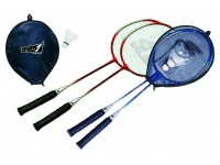 Set badminton mercury con fodera 2 colori assortiti