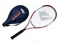 Racchetta tennis master in alluminio con fodera colori assortiti sport one