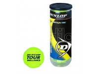 Tubo 3 palle tennis dunlop gialle