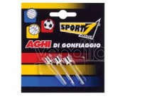Blister 3 aghi per palloni sport one