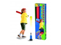 BASEBALL TRAINING SET MAZZA 60 CM 3 PALLE E LANCIA PALLE SPORT ONE