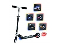 "MONOPATTINO SCOOTER ""STOP 'N GO"" NERO LIGHT SYSTEM"