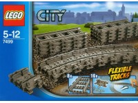 lego city 7499 binari flessibili