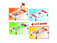 Gioco 4 Sport in 1 Basket Hockey Bowling Golf