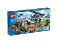 Lego city police 60046 elicottero di sorveglianza